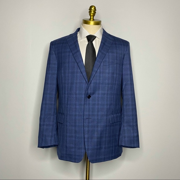 Brooks Brothers Other - Brooks Brothers Regent Fit Blazer 100% Wool Check